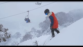 Perisher - A Snowy Thursday in Perisher
