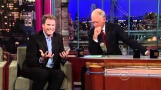 Will Ferrell on Letterman 10/28/2010