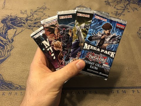 Yu-Gi-Oh! Random Pack Opening – Mega Packs and Legendary Duelists!