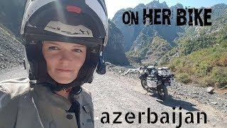Azerbaijan. On Her Bike Around the World. Episode 14
