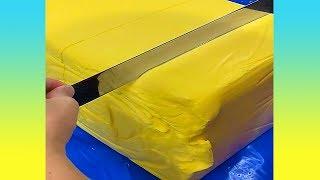 สีเหลืองๆแบบนี้ มันเต้าหู้เหลืองหรือเนยกันแน่นะ (รวมคลิปความพึงพอใจ)