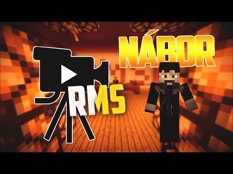 RMS • Minecraft • Nábor S01E00 CZ/SK • TSC