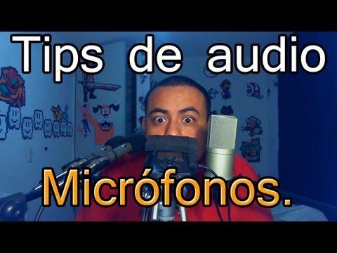 Micrófonos de condensador, una elección para mejorar tu material Tips de audio