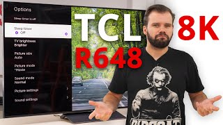 Video: TCL 6 Series 8K / R648 TV Review - More affordable 8K TV