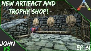 New Artifact/Trophy Shop - Ark: Survival Evolved YMCArk