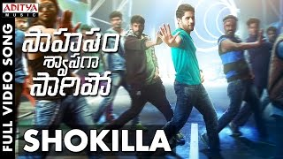 Shokila Full video song here SaahasamSwaasagaSaagipo