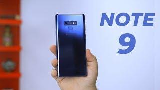 Samsung Galaxy Note 9 Impressions |  يفوق التوقعات !!