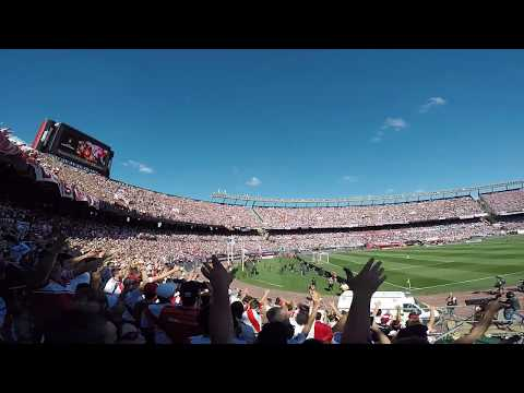 """""""River Plate Vs Boca Final Copa Libertadores 2018"""" Barra: Los Borrachos del Tablón • Club: River Plate • País: Argentina"""