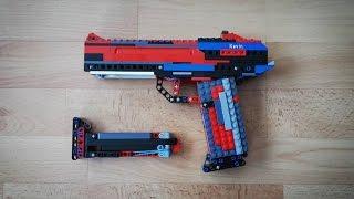 Lego Pistol v2 Tutorial/Instruction