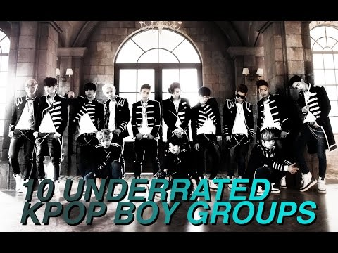 10 UNDERRATED KPOP BOY GROUPS