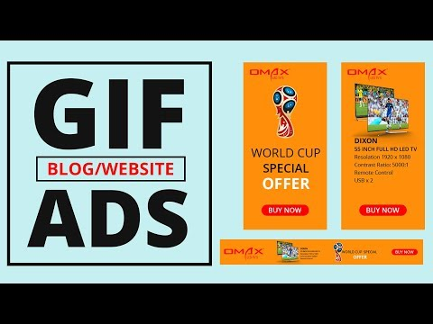 How to Create Animated GIF Web Banner Ads in Photoshop | GIF Animation Banner | #Maxpoint-Hridoy