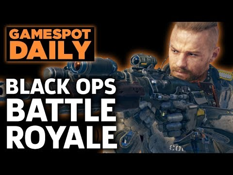 Call Of Duty: Black Ops 4 Has Battle Royale And Zombies – GameSpot Daily