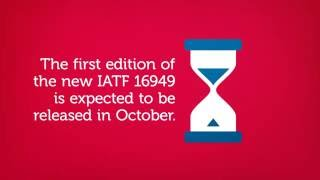The IATF 16949  - New QMS Standard for the Automotive Industry