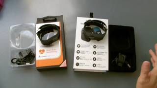 Product Reviews: Veryfit vs Mistep TW64s Smart Band Bracelet with Heart Rate Monitor