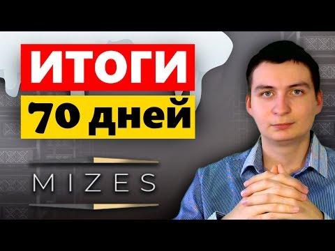 Mizes Итоги за 70 дней работы, выходим в БУ и начинаем получать профит!