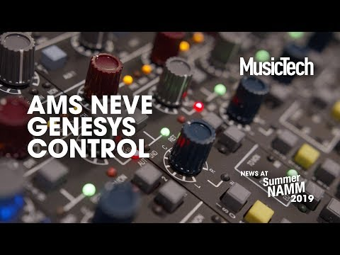 Control a Neve Genesys desk with a new control plugin #SummerNAMM2019