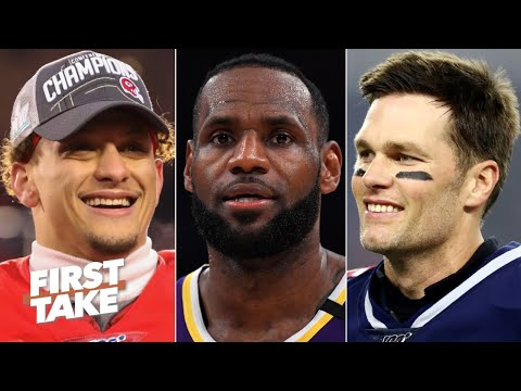 First Take debates the MVP of all of sports: LeBron, Patrick Mahomes or Tom Brady? | First Take