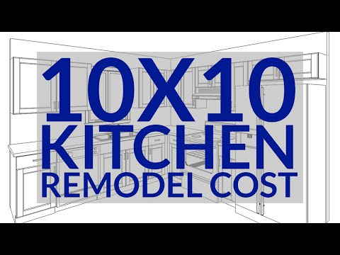 10x10 Kitchen Remodel Cost - How To Calculate A Small Kitchen Remodel Cost