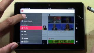 Kindle Fire HDX - How to Get the Official YouTube App | H2TechVideos