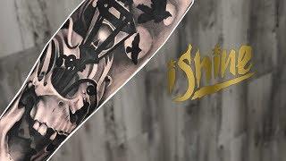 Tattoo Highlight - Skull Black & Grey Realism - IShine Ink - Sacramento