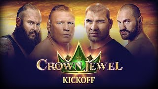 WWE Crown Jewel Kickoff: October 31, 2019