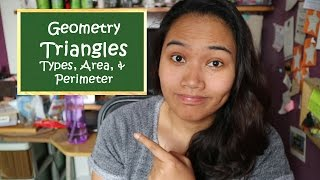 Area And Perimeter Of Triangles - Geometry - Free Civil Service Review
