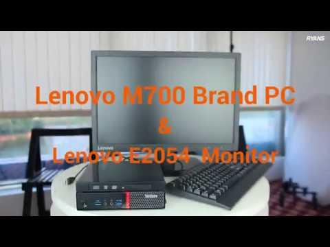 Lenovo ThinkCentre M700 Tiny Brand PC & Lenovo E2054 Monitor