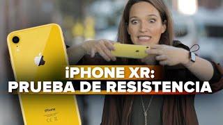 iPhone XR: prueba de caídas