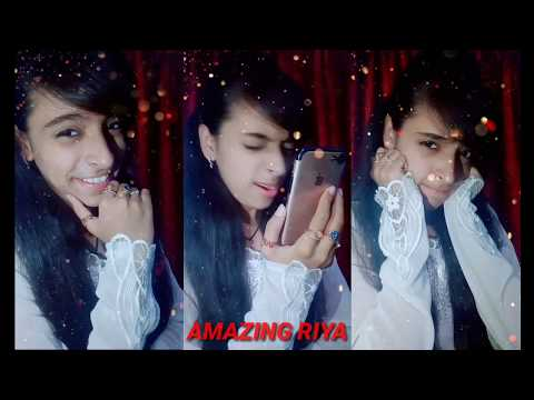 Sweet Babu Voice😍|Romantic Act|Best Duet With Amazing Riya👩‍❤‍💋‍👨| #Tiktok| AMAZING RIYA 2019