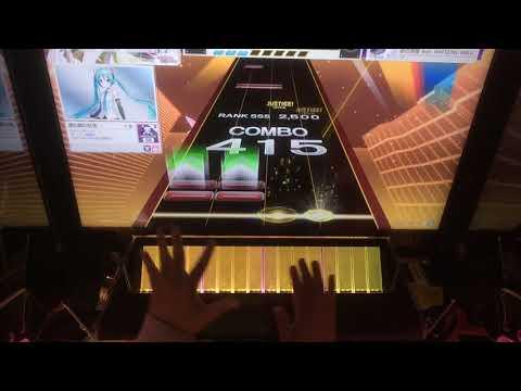 【CHUNITHM】砂の惑星 feat. HATSUNE MIKU(MASTER)AJ 手元 (видео)