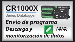 cr1000x datalogger getting started | data (part 4)