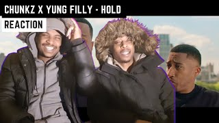 CHUNKZ X YUNG FILLY - HOLD | (REACTION) | ON A PLANE ✈️🔥🔥