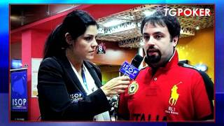 Www.isop.it TG POKER ISOP VOL 2 INTERVISTA A CRISBUS GUERRA PRE FINAL TABLE MAIN