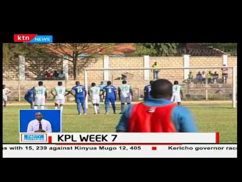 Mathare United and Chemelil sugar share points in a goalless draw at Thika sub county stadium