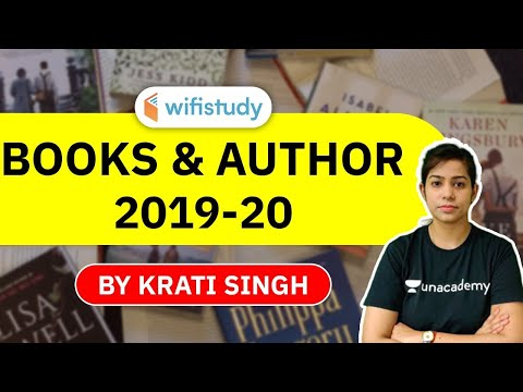 Current Affairs 2020 | Important Books & Authors 2019-20 by Krati Singh