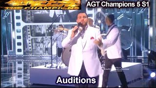 Sal Valentinetti Mack The Knife SIMON STAR STRUCK Audition | America's Got Talent Champions 5 AGT