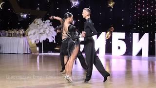 Шарковский Егор - Клименко Виталина, Samba, Сибирский Марафон 2020