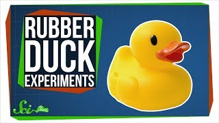 3 Times Scientists Did Weird Experiments With Rubber Ducks
