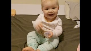 Baby starting solids 2 month progression (NO MEAT)