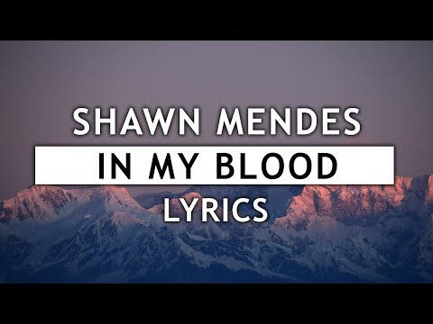 Shawn Mendes - In My Blood (Lyrics) - Sleepy Wolf