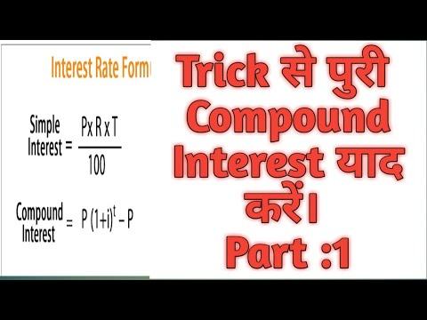 Compound Interest  Trick Part 1