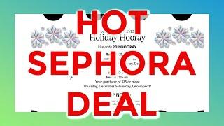 RARE SEPHORA DEAL! - Sephora Savings Hack!-Gina Schweppe