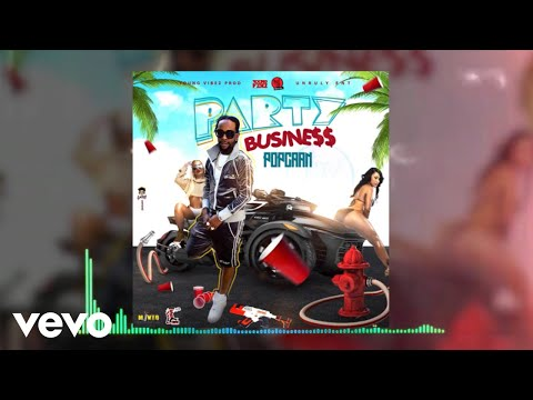 Popcaan - Party Business (Official Audio)