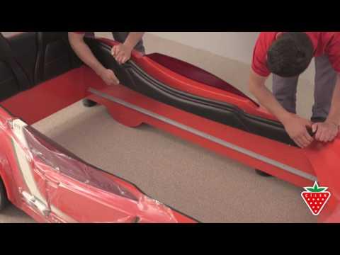 Cilek GTI Autobett - Möbelmontage