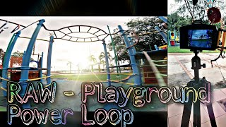 RAW power loop tigh space - playground. #fpvaddiction #fpvfreestyle #ev800d