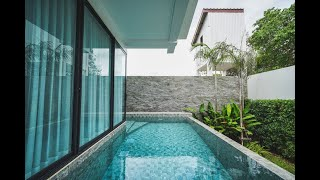New Multi-Level Two Bedroom Pool Villa for Sale in Cherng Talay