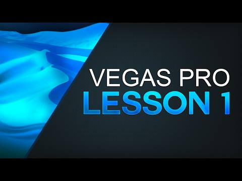 Sony Vegas Pro 14: Tutorial For Beginners - Lesson 1 (Layout & User-Interface)