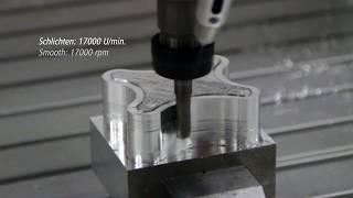 Amazing CNC Machine – Working Process – Milling of Aluminium with a Isel CNC Machine