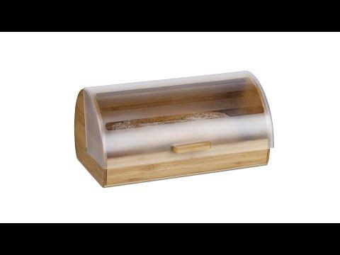 Rollbrotkasten Bambus groß