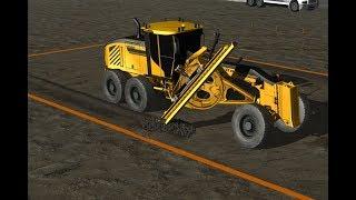 Motor Grader Simulator Training Pack - CM Labs